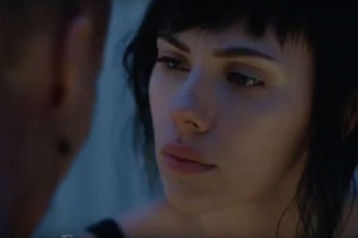 Scarlett Johansson Talks Ghost In The Shell Remake Movie And The Identity Of The Major Player One