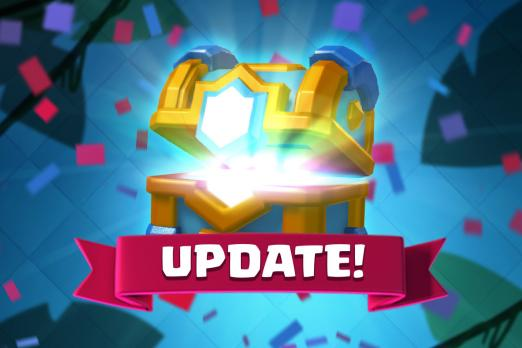 clash royale sneak peeks new cards dart goblins goblin gang january update jungle arena new chests leak battle ram executioner