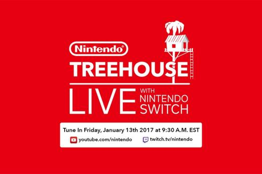 nintendo switch treehouse event