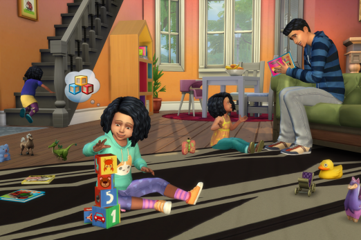 Sims 4' Cheats: Toddlers Skills, Needs And Mood Shortcuts