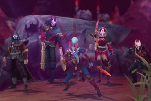 League Of Legends Blood Moon Summoners Rift And Skins For Diana