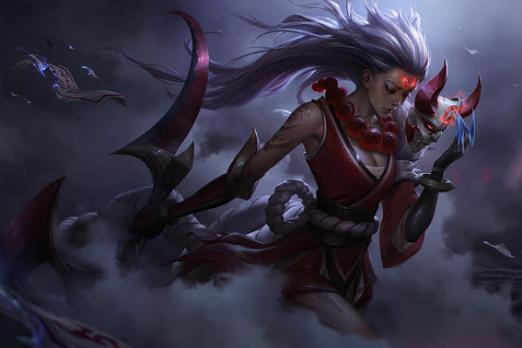 League Of Legends Blood Moon Skins And Assassin Mode On The Pbe