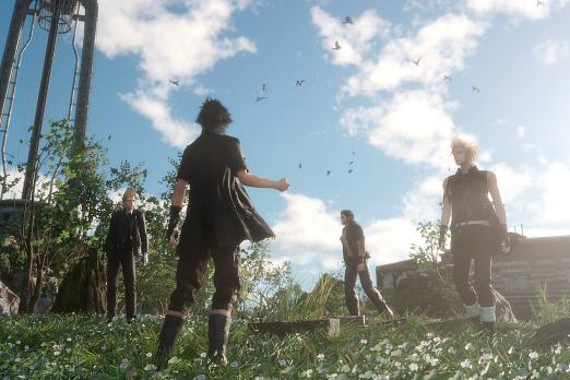 final fantasy 15 boy band