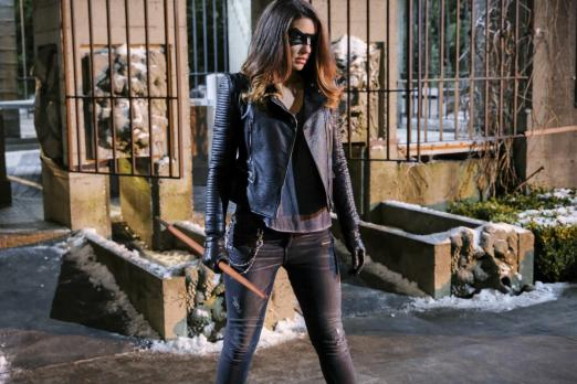 b2a89a9db Arrow' Season 5: Dinah Drake Dons Black Canary Mask In Episode 14 ...