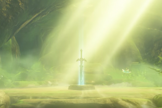 zelda breath of the wild botw master sword