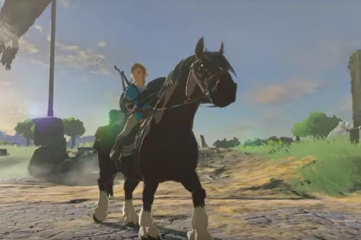 zelda breath of the wild horses