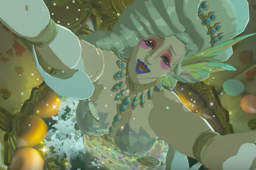 zelda breath of the wild great fairy spring