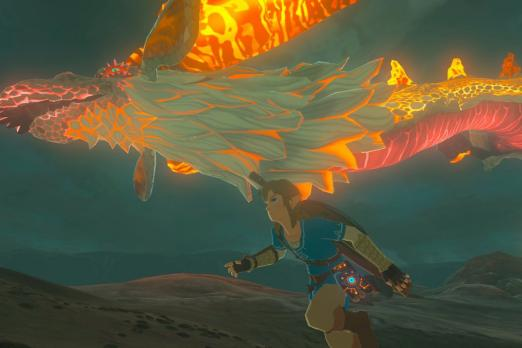 Breath Of The Wild Dragon Thingy Zelda Link