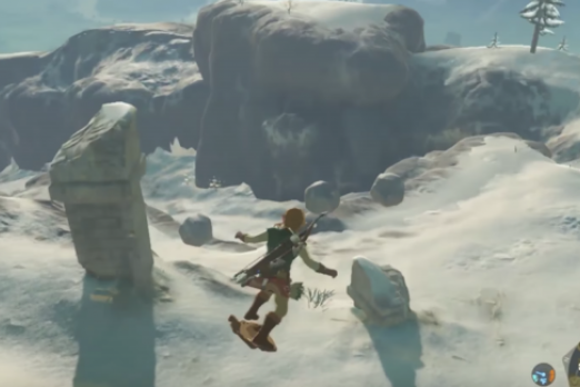 How To Shield Surf In Breath Of The Wild A Quick Guide To One Of Link S Coolest Hidden Skills Player One