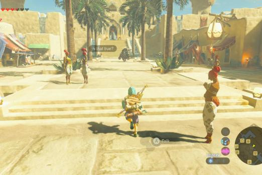 c9f4fd709 Gerudo Town 'Breath of the Wild': How To Get Into City And What You ...