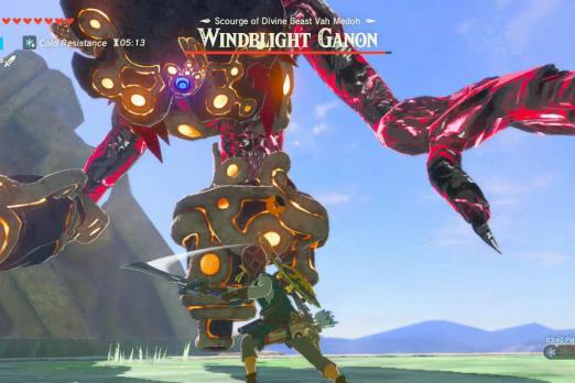 Breath Of The Wild Vah Medoh Walkthrough How To Solve All