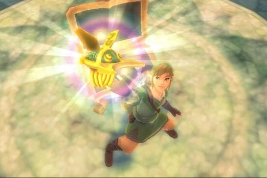 zelda link skyward sword beetle