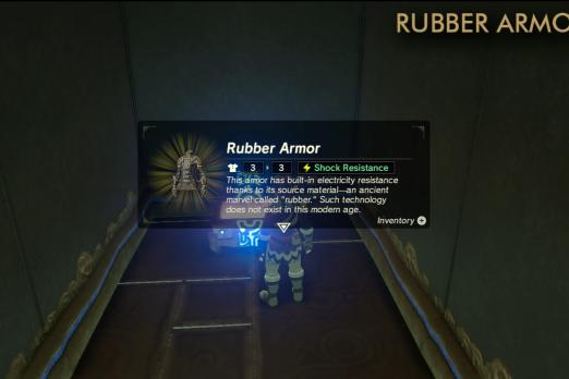 Breath Of The Wild' Rubber Armor Locations: Where To Collect
