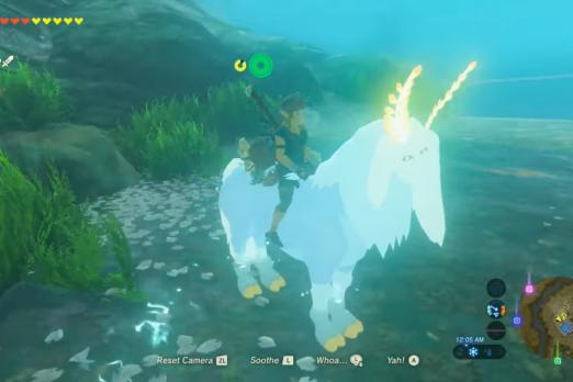 Breath Of The Wild' Lord Of The Mountain Location: Where To