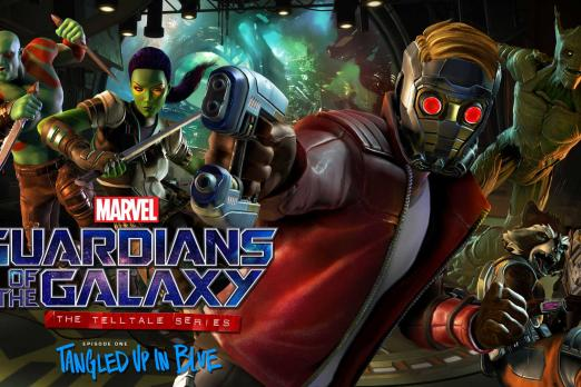 Guardians of the Galaxy: The Telltale Series - Group Shot