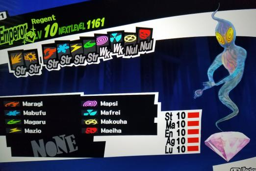 Persona 5 Treasure Demon Guide Weaknesses And Fusion Skills For