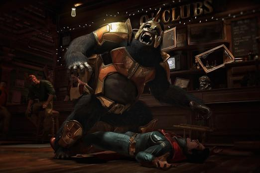 Injustice 2 Grodd Superman