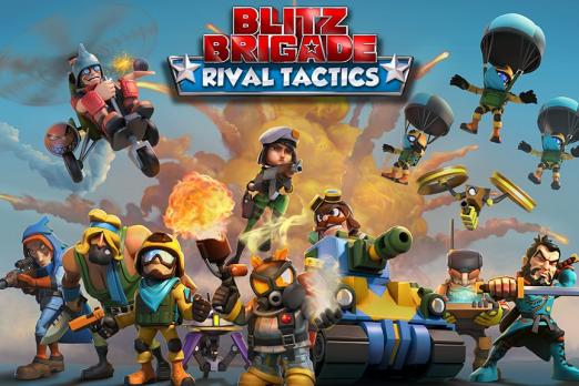 blitz brigade rival tactics clash royale review gameplay gameloft supercell ios android