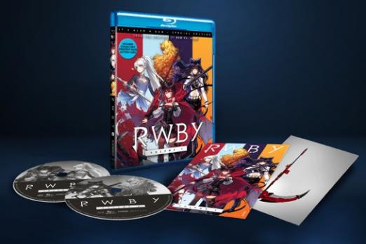 RWBY' Volume 4 DVD And Blu-Ray Releasing In June, Including Bonuses