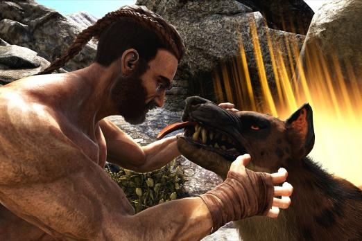 Ark survival evolved xbox one v755 update released new dinos ark survival evolved hyaenodon malvernweather Image collections
