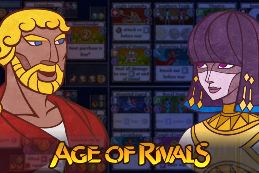 age of rivals review walkthrough game iOS strategy card game board game