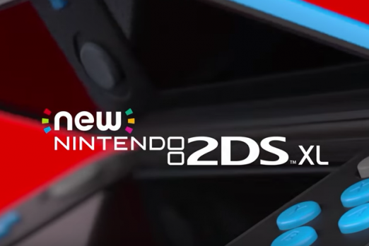 new nintendo 2ds xl screen