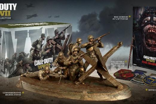 Call Of Duty Wwii 159 Valor Collectors Edition Up For Pre Order At Gamestop Player One