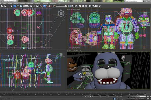 Five Nights At Freddy's Anniversary Image May Tease New Animatronic