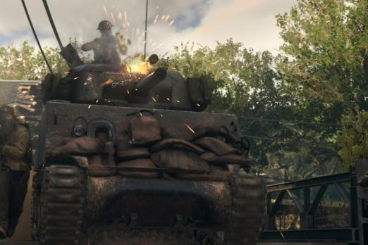 Call Of Duty: WWII tank