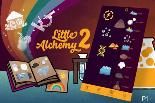 little alchemy 2 review iOS android crafting game browser game update new items
