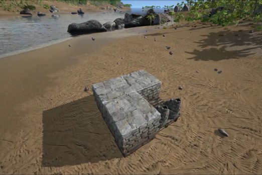 ARK Survival Evolved beginners can build a tiny stone base like this. It has enough room for crafting sleep and storage. ARK Survival Evolved is ... & Ark: Survival Evolved Best Tiny Starter Base Design Guide For ...