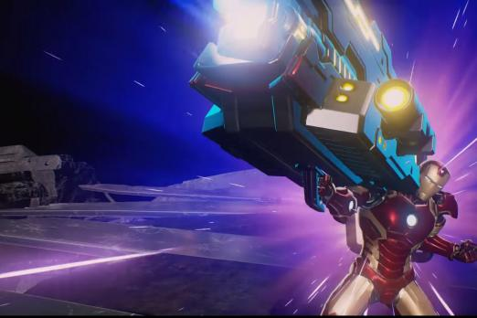 marvel vs capcom infinite iron man hyper move
