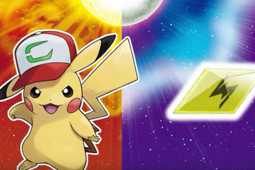 pokémon sun and moon how to download ash hat pikachu player one