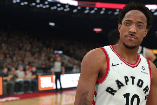 NBA 2K18 DeMar DeRozan