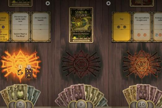underhand cult card game review iOS android strategy best free games