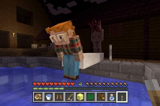 Stranger Things Skin Pack Gives Minecraft A Taste Of Hawkins IN - Skins para minecraft ps3 gratis