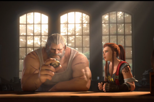 Reinhardt Shines In Overwatch Animated Short Honor And Glory Player One