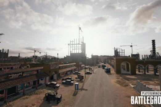 PUBG - Desert Downtown