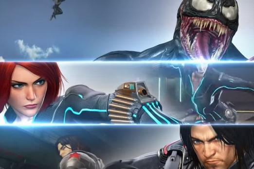 marvel vs capcom infinite venom winter soldier black widow