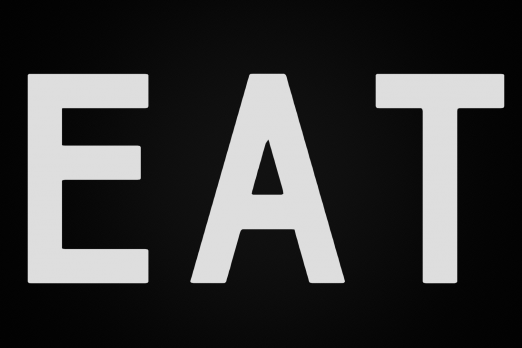 eat the revolution title screen game