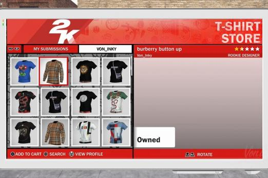 7de1421555ba NBA 2K18 Removed Custom Shirts Cause Controversy Over VC ...