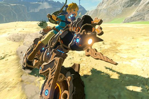 Zelda Breath Of The Wild Master Cycle: How To Download Breath Of The Wild: Motorcycle Link DLC