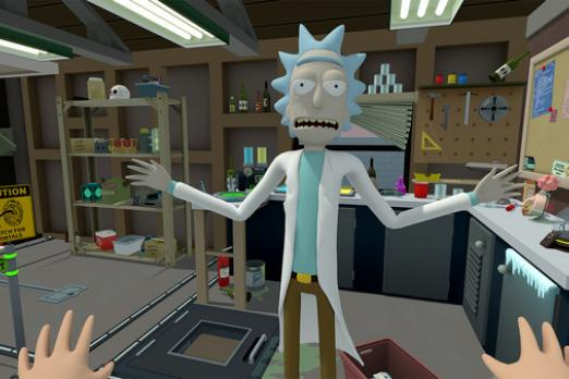 'Rick and Morty: Virtual Rickality' Comes To PSVR in 2018 - Trailer