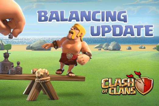 Clash Of Clans Balance sized