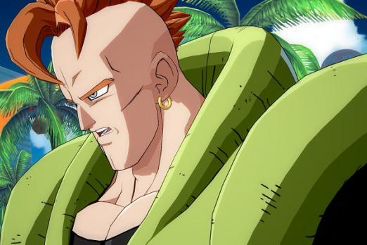 android 16 dragon ball fighterz