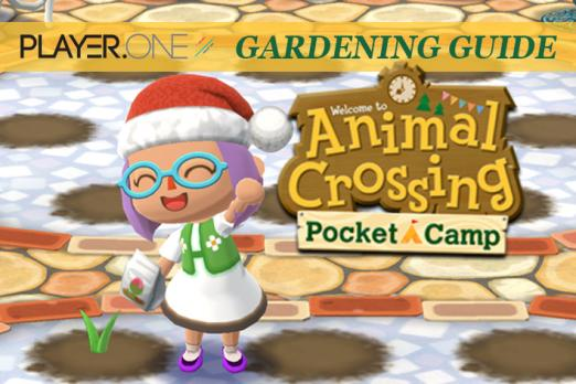 Animal Crossing Pocket Camp Flower Guide How To Plant Water