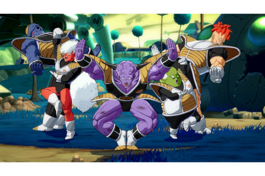ginyu force dragon ball fighterz