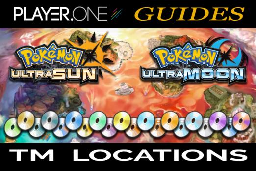 Pokémon Ultra Sun And Moon TM Locations: Every Move And