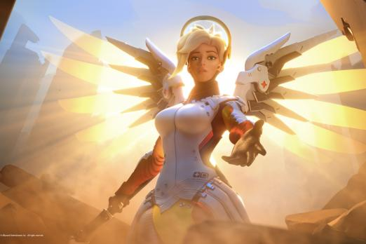 Mercy's ultimate Valkyrie hit with nerf on the Overwatch PTR