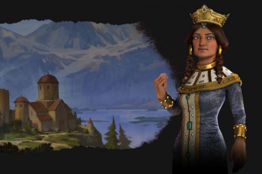 georgia tamar leader civ civilization 6 rise and fall expansion